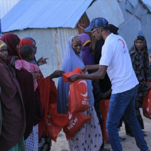 Turkish aid group distributes holiday meat to 80,000 families in Somalia for Muslim holiday
