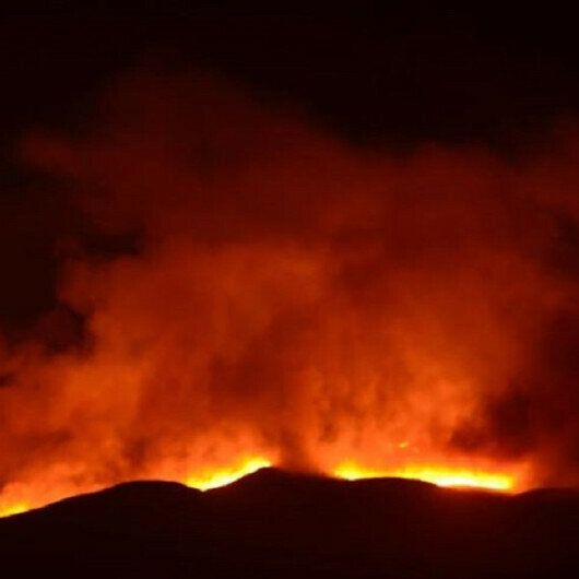 Large fire in Greece's Attica region nearing residential areas