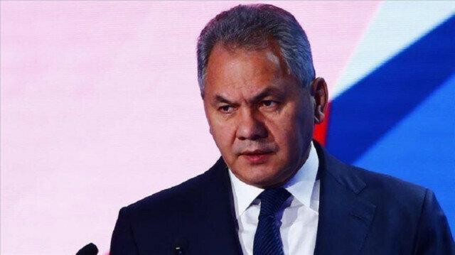 Russian Defense Minister Sergey Shoygu
