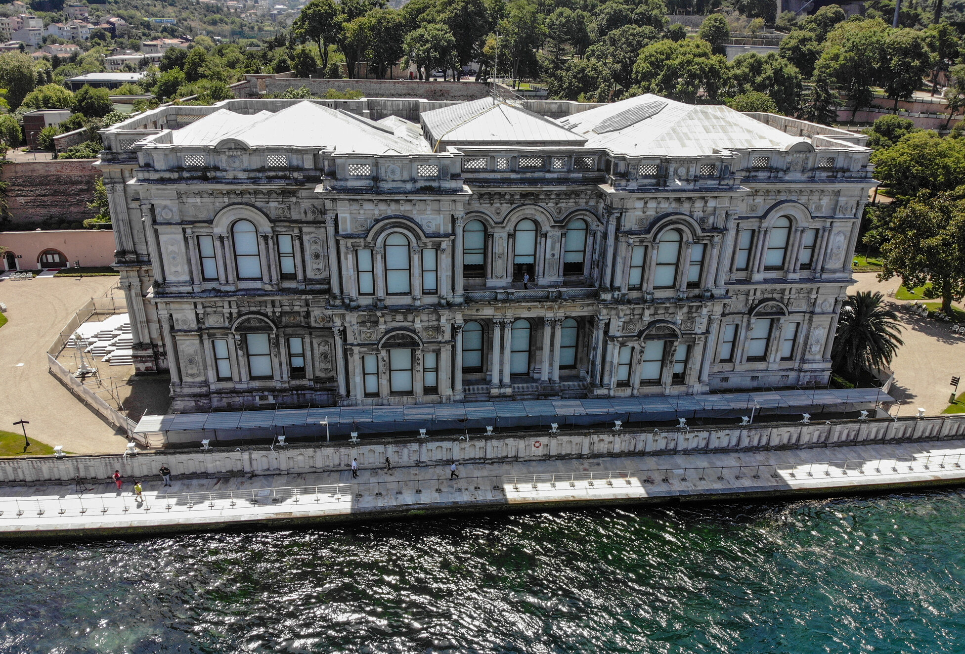 Beylerbeyi Palace's magnificent 113-meter quay opens for visitors