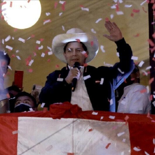Pedro Castillo sworn in as president of Peru