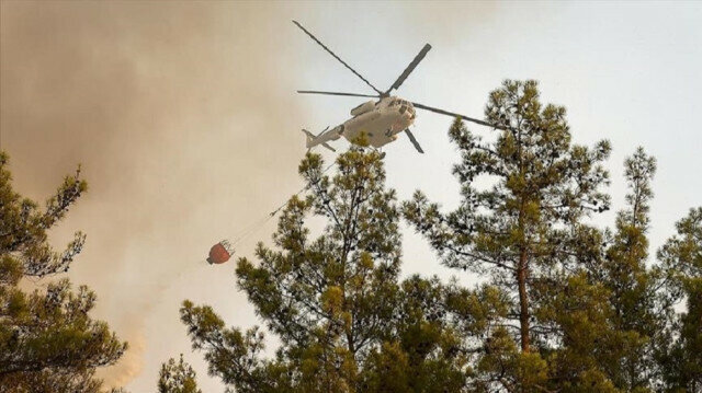 Turkey's fight against forest fires continues at full pace