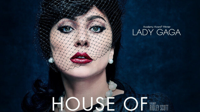 Movie poster for House of Gucci
