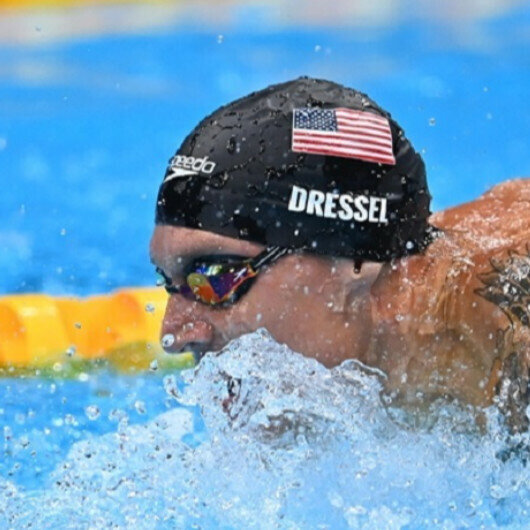 US swimmer Dressel bags 4th Tokyo Olympics gold with another record-breaking time