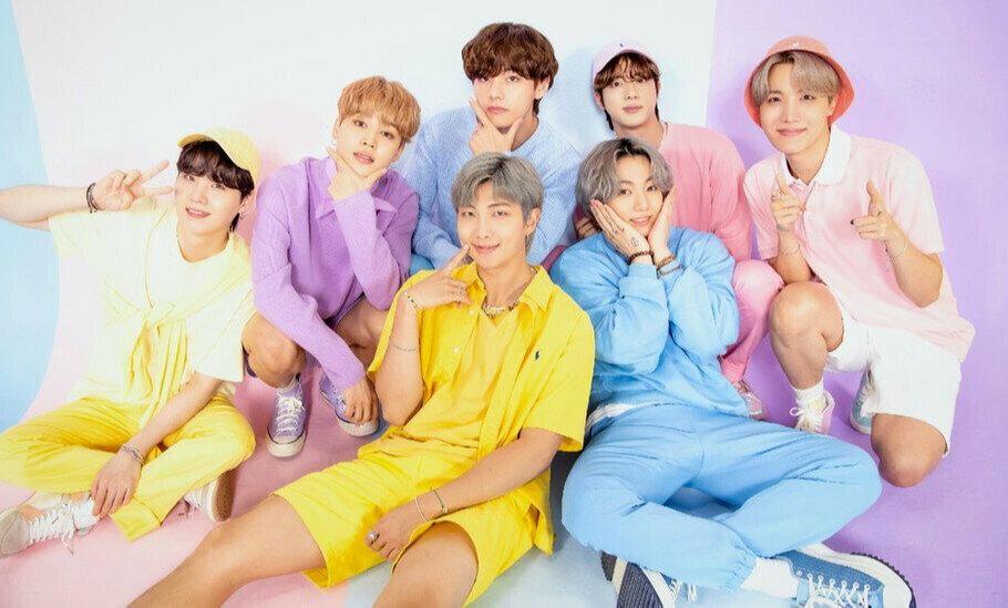 Popular K-pop boy band BTS