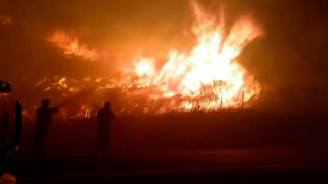 Spain battles fires after record-breaking heat wave