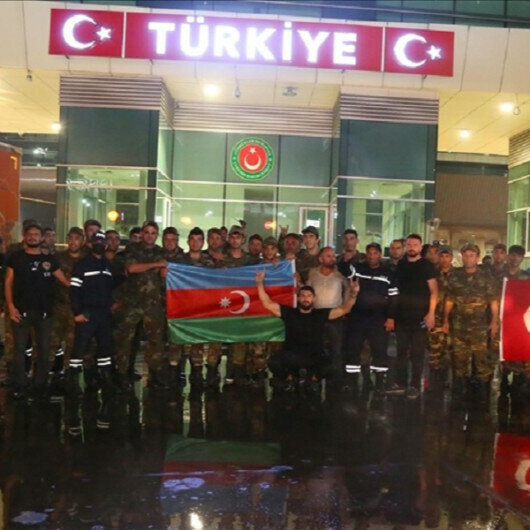 Azerbaijan dispatches team to combat Turkey's wildfires