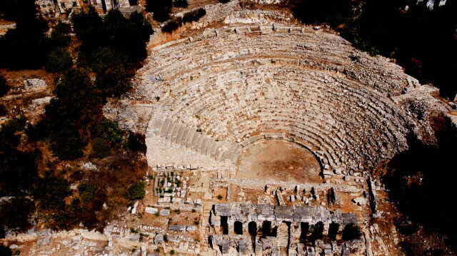 Elaiussa Sebaste ancient city in Turkey's southern Mersin province.