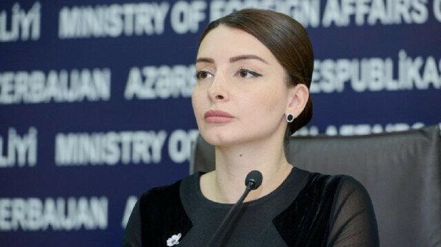 Baku's Foreign Ministry spokeswoman Leyla Abdullayeva