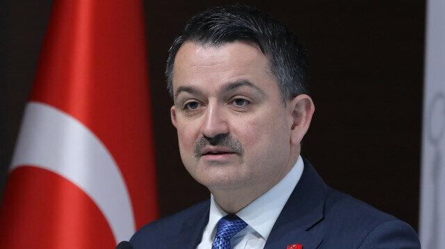 Turkey's agriculture minister Bekir Pakdemirli