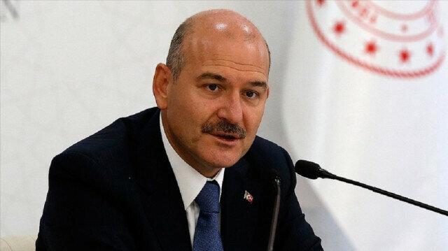 Turkey's interior minister Suleyman Soylu