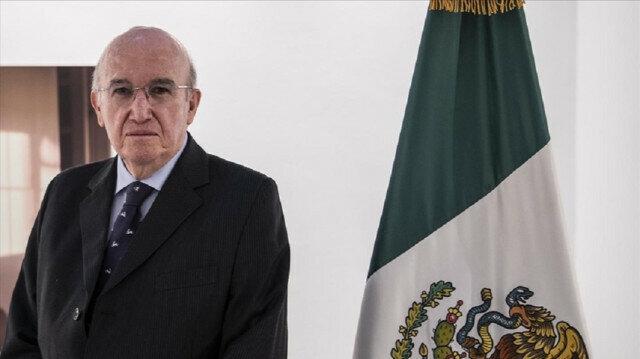 Mexico's Ambassador to Turkey Jose Luis Martinez y Hernandez