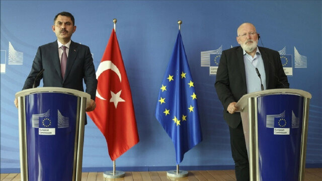 EU, Turkey to work together on climate crisis