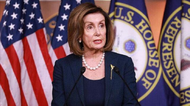 US House of Representatives Speaker Nancy Pelosi