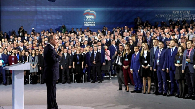 Putin's party leads as polls close in Russian parliamentary election