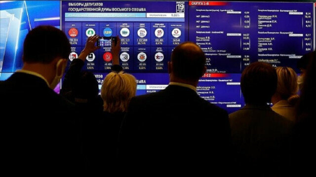 Five parties pass election threshold in Russian parliamentary polls