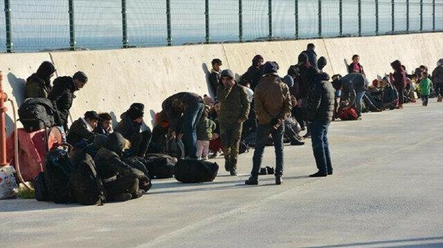 At least 335 irregular migrants held across Turkey
