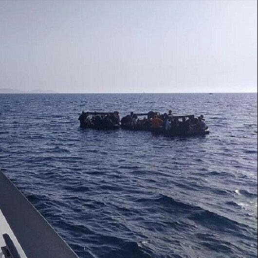 Over 230 irregular migrants rescued after Greek push back