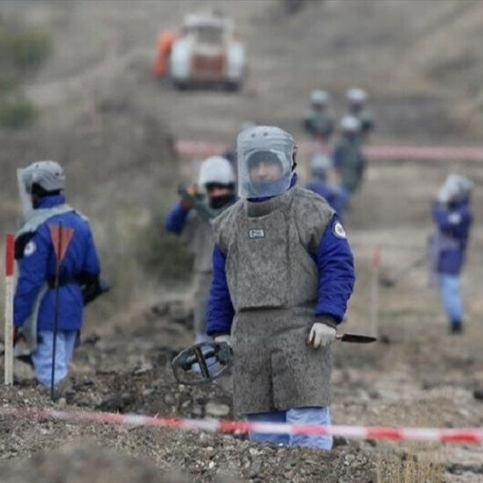 Azerbaijan cleans over 16,000 mines in liberated territories