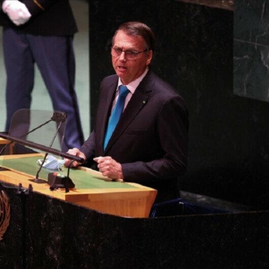 Brazil's Bolsonaro makes election speech, distorts facts in UN address
