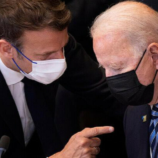 Biden, Macron agree sub deal 'would have benefitted' from transparency
