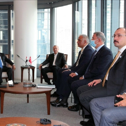 Erdoğan meets with counterparts, other leaders in New York