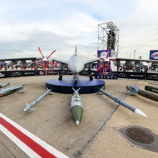 Turkey's Baykar introduces vertical landing UAV at TEKNOFEST