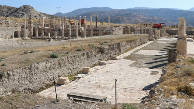 Epigraphs shed light on earthquakes in Turkey's ancient city of Tripolis