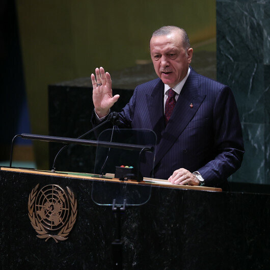 Turkish president says access to sufficient food not privilege, 'but a right for all'
