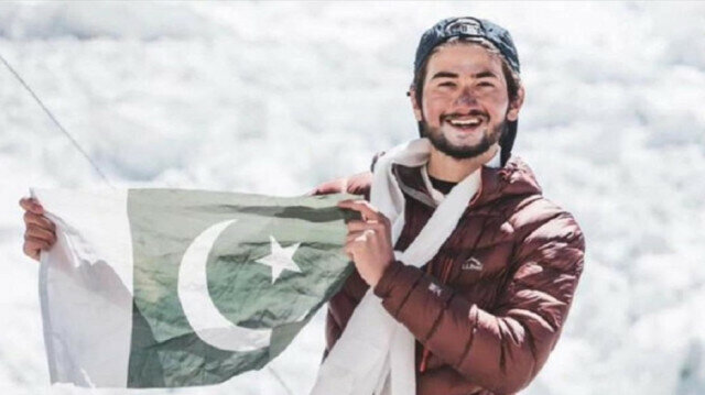 Young Pakistani climber scales world's 8th tallest mountain