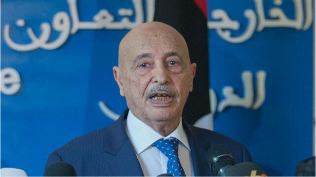 Speaker of the Libyan House of Representatives, Aguila Saleh