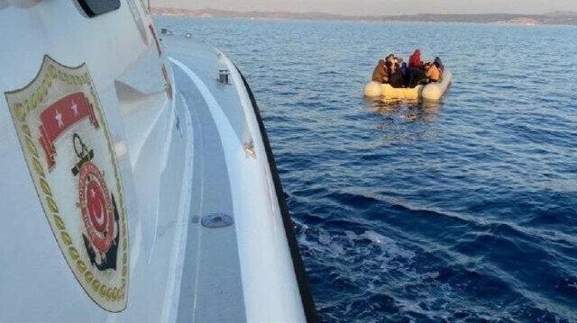 Over 250 irregular migrants held in southwestern Turkey