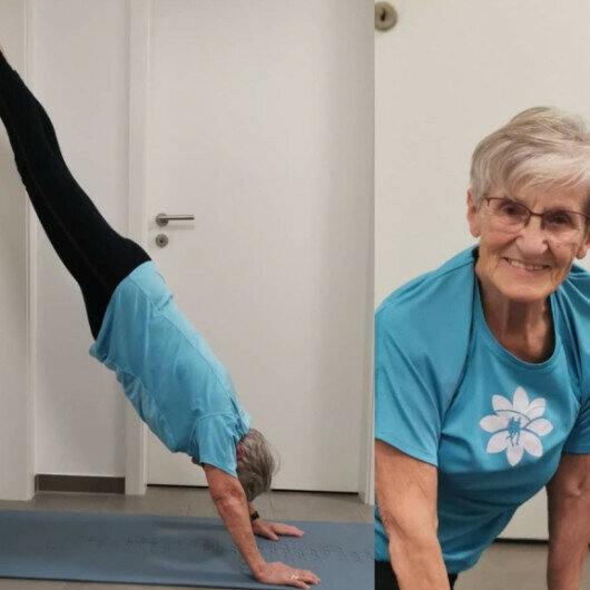 At 81, fitness star Erika Rischko inspires youth to exercise