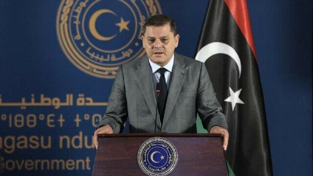 Libyan Prime Minister Abdul Hamid Dbeibeh