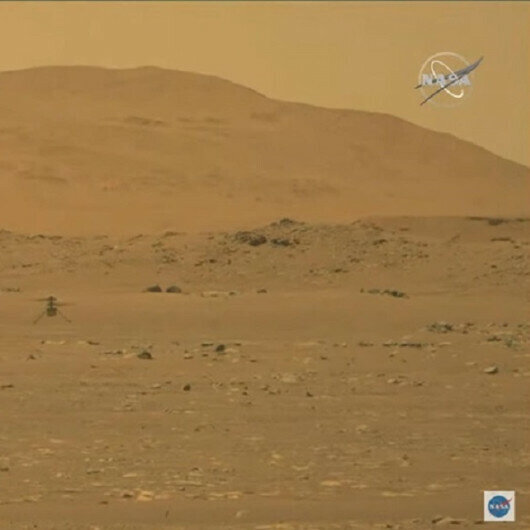 NASA's helicopter makes first flight on Mars