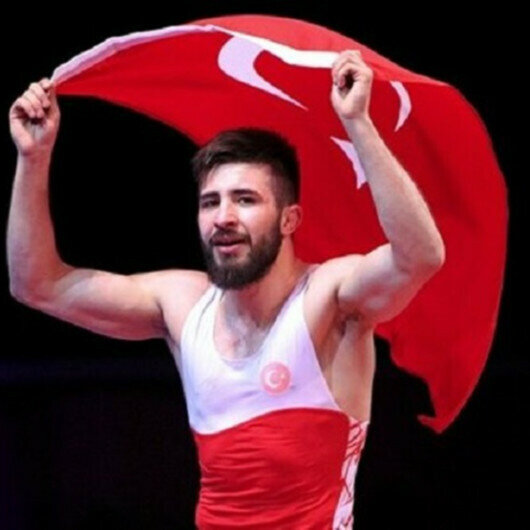 Turkish wrestler Atli wins gold at European championships