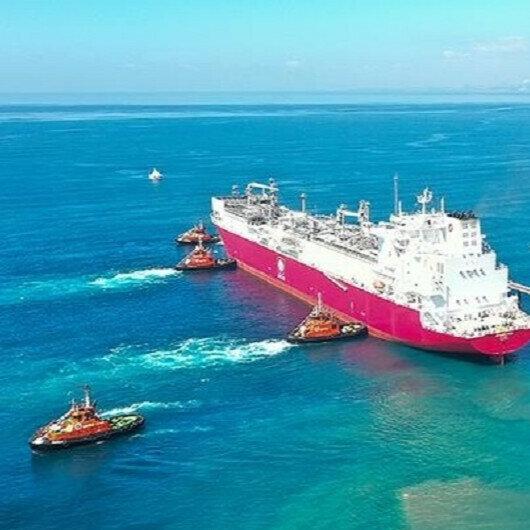 Turkey's 1st FSRU vessel arrives in Dortyol: Minister