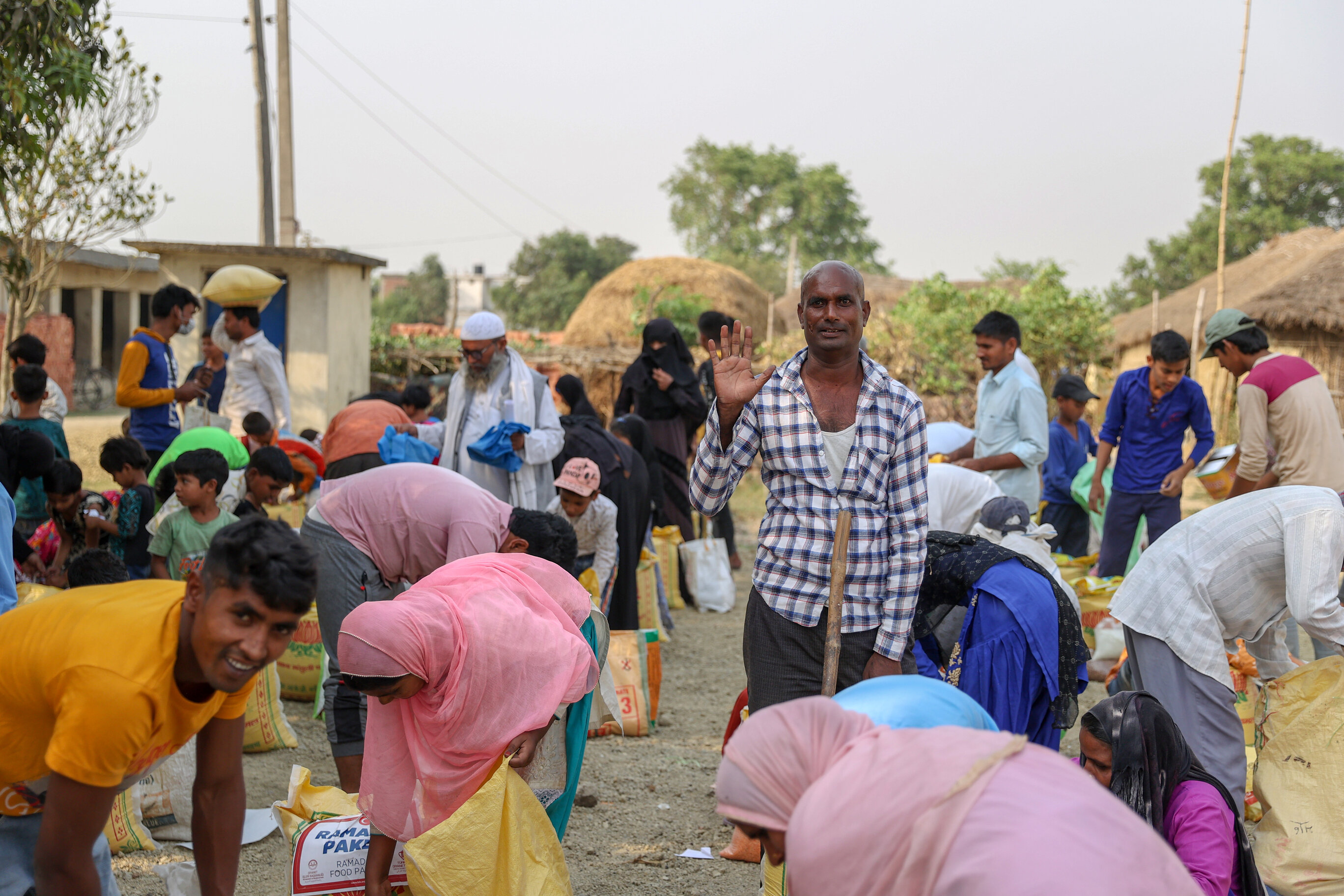 Turkish charity delivers Ramadan aid in Nepal
