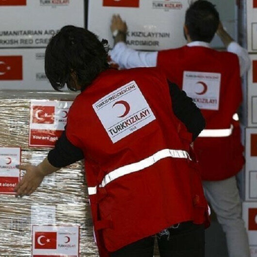 Turkish agency distributes food aid in Pakistan