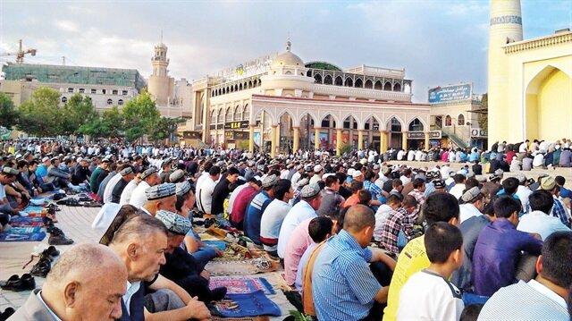Uygurlar'a cami kotası