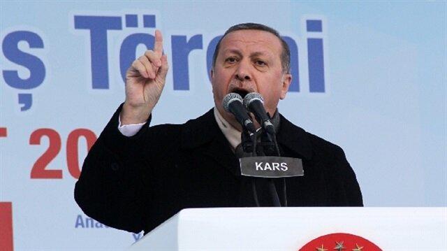 Erdoğan yineledi: Türkiye'nin Kürt sorunu yoktur