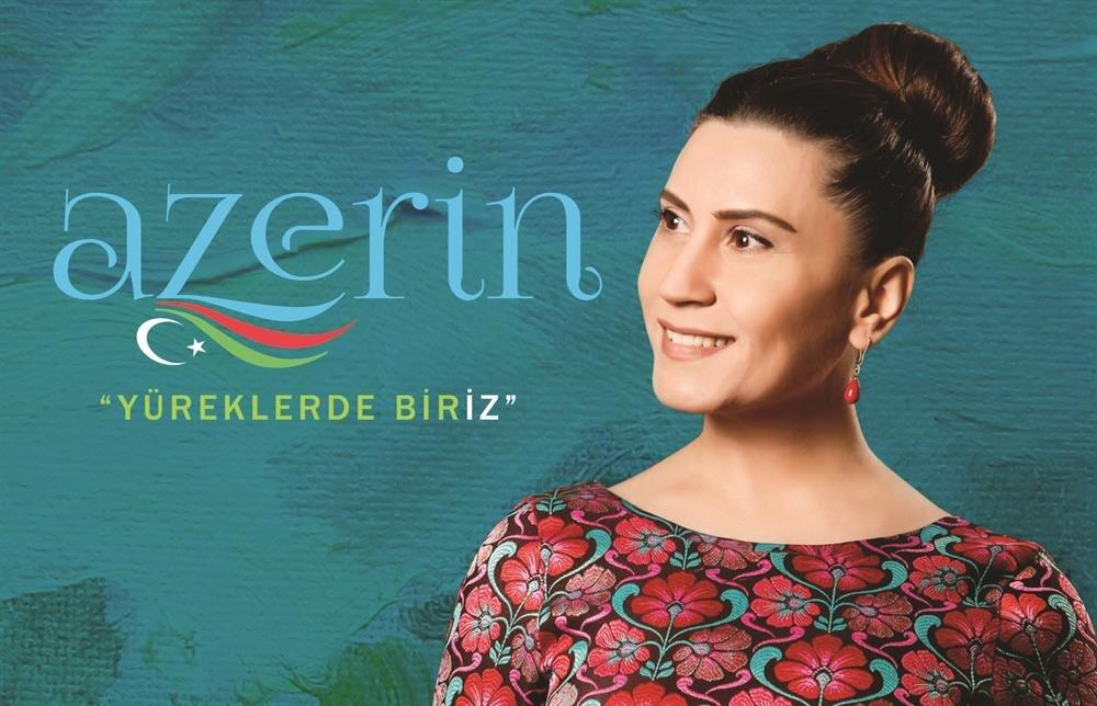 Azarbeycan Devlet Sanatçısı ünvanını taşıyan Azerin, Türkiye'deki ilk albümü olan Yüreklerde Biriz'in devamının da geleceğini söylüyor.
