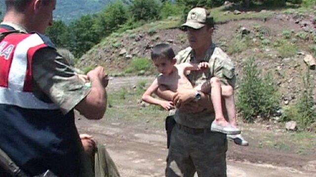 Ormanda kaybolan çocuk 6 gün sonra bulundu
