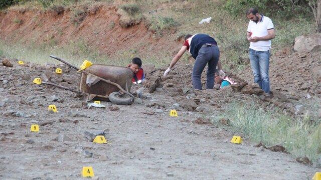 Elazığ'da bomba patladı: Üç ölü
