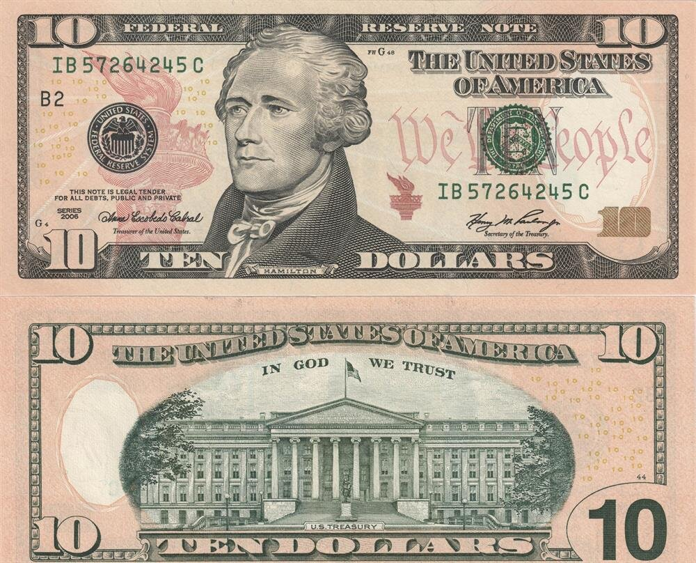 10 Dolarların Üzerinde Hangi Kadının Yüzü Olacak