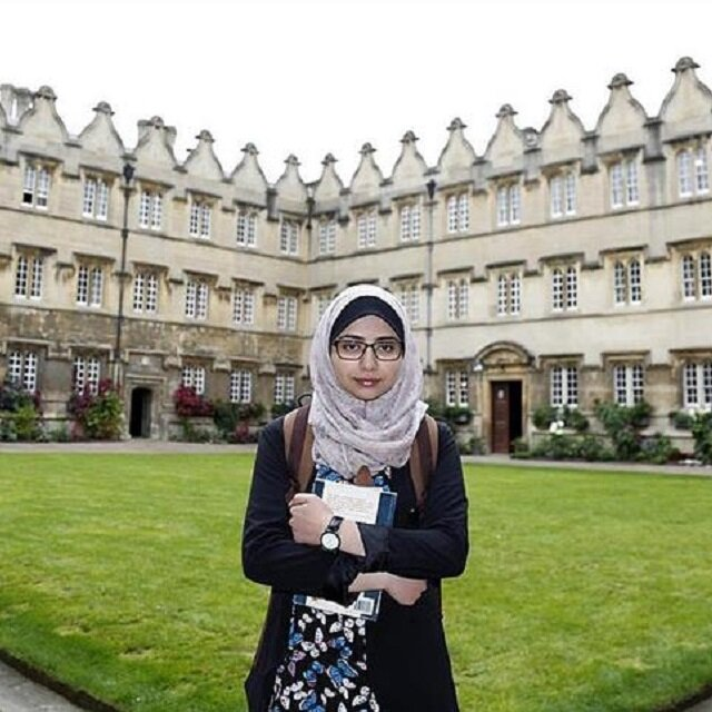 The Oxford student not permitted to visit family in Gaza
