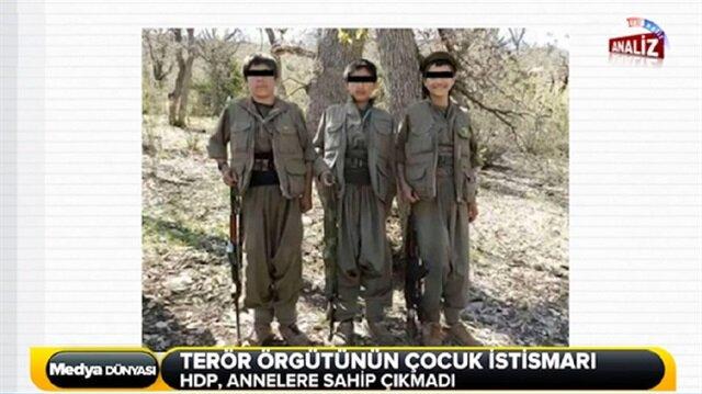 Çocuk istismarcısı PKK!