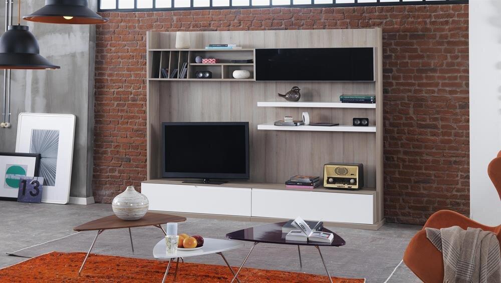 Enza home mobilya yatak odas modelleri 22 dekor sarayi -  O Unlu U A K Ve Monokrom Renkler Kullan Larak Renklendirilen Duvarlar N I Erisinde Yine A K Tonlar Se Ilerek Dekore Edilen Mobilya Niteleri