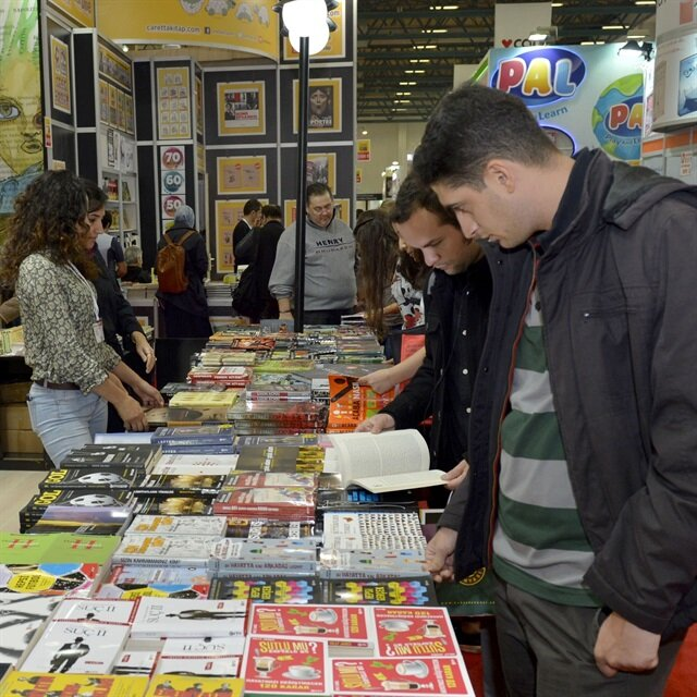 Publishers flock to Istanbul International Book Fair