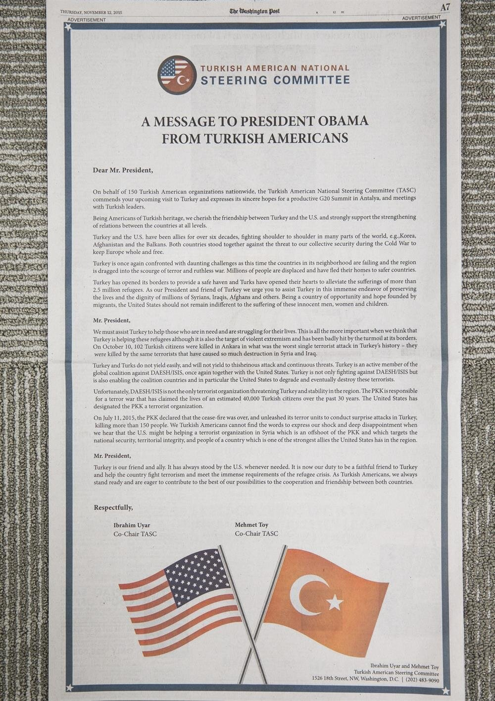 relations between turkey and america essay How did relations between usa & ussr change in the years 1955-62 between the years of 55-62 there were a lot of significant changes in the attitudes of each country.